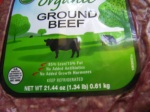Certified Organic Beef is the best choice.
