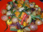 Roasted Organic Vegetables